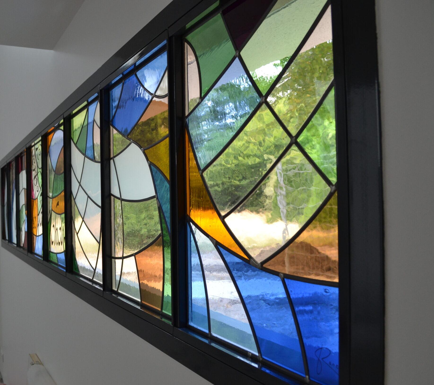 création vitraux Atelier de vitrail Christian BEAUBREUIL