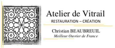 logo Atelier de vitrail Christian BEAUBREUIL